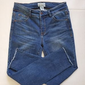 For The Republic Raw Hem Ankle Jeanssize 2. Ankle